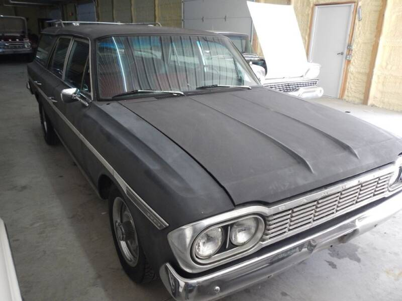 1964 AMC RAMBLER WAGON for sale at Custom Rods and Muscle in Celina OH