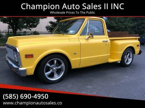 1972 Chevrolet C/K 10 Series for sale at Champion Auto Sales II INC in Rochester NY