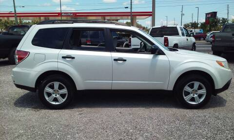 2010 Subaru Forester for sale at Pinellas Auto Brokers in Saint Petersburg FL