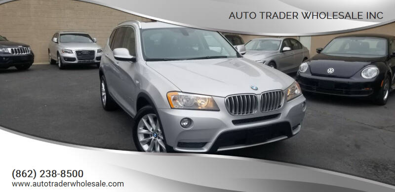 2014 BMW X3 for sale at Auto Trader Wholesale Inc in Saddle Brook NJ