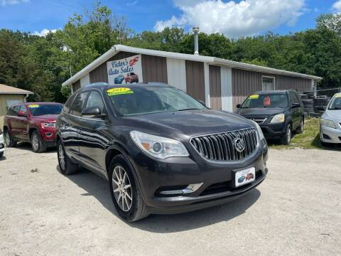 2013 Buick Enclave for sale at Victor's Auto Sales Inc. in Indianola IA