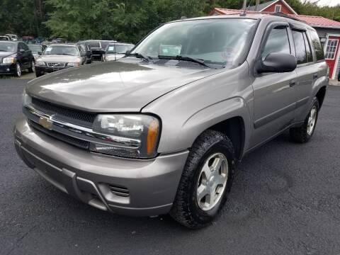 2005 Chevrolet TrailBlazer for sale at Arcia Services LLC in Chittenango NY