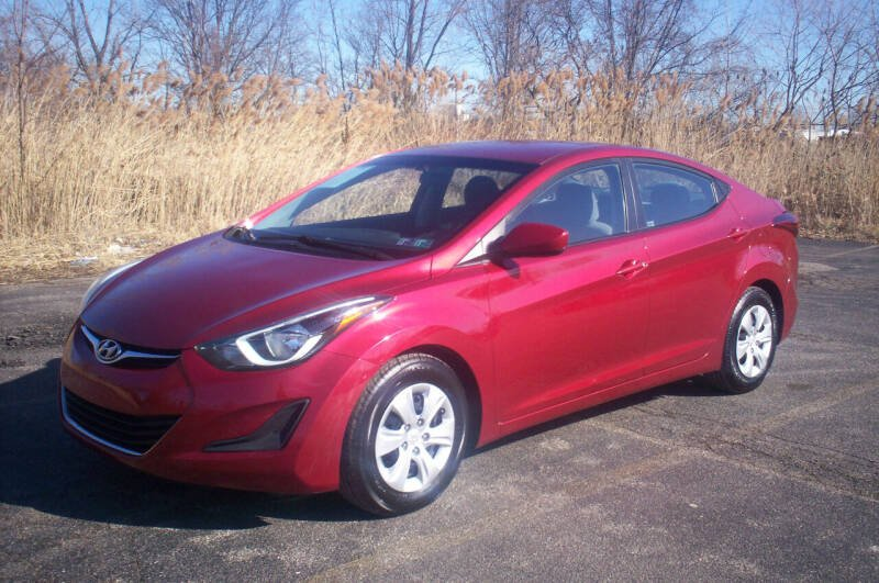 2016 Hyundai Elantra for sale at Action Auto Wholesale - 30521 Euclid Ave. in Willowick OH