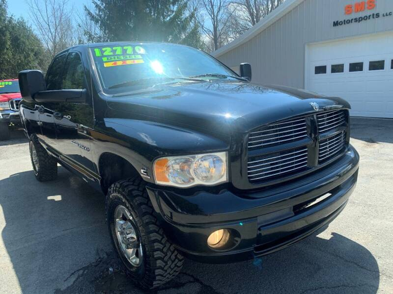 2005 Dodge Ram Pickup 2500 for sale at SMS Motorsports LLC in Cortland NY