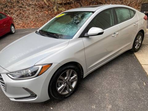 2017 Hyundai Elantra for sale at WHARTON'S AUTO SVC & USED CARS in Wheeling WV