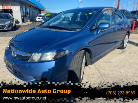 2010 Honda Civic for sale at Nationwide Auto Group in Melrose Park IL