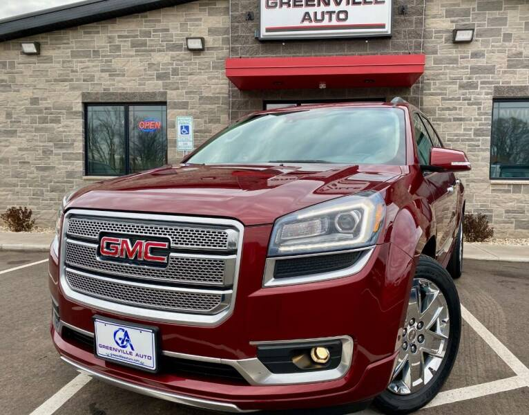 2015 GMC Acadia for sale at GREENVILLE AUTO & RV in Greenville WI