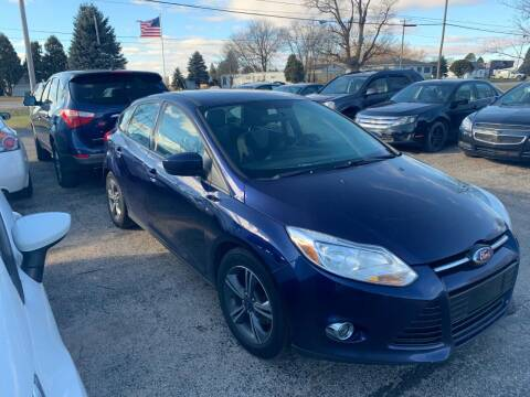 2012 Ford Focus for sale at Pine Auto Sales in Paw Paw MI