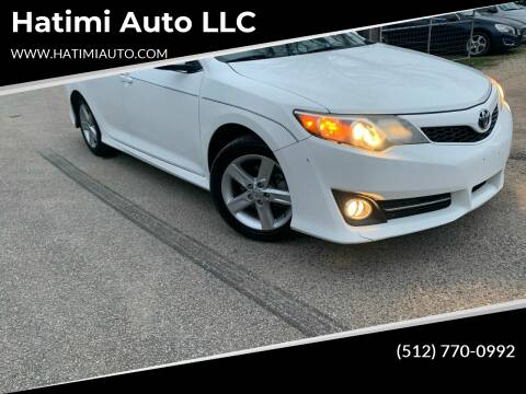 2014 Toyota Camry for sale at Hatimi Auto LLC in Buda TX