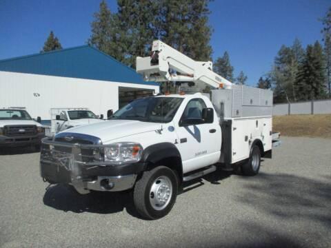 2009 Sterling 5500 4X4 BUCKET TRUCK for sale at BJ'S COMMERCIAL TRUCKS in Spokane Valley WA