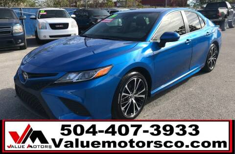 2019 Toyota Camry for sale at Value Motors Company in Marrero LA