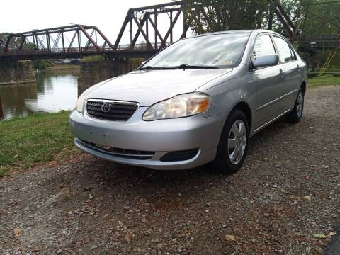 2006 Toyota Corolla for sale at PUTNAM AUTO SALES INC in Marietta OH