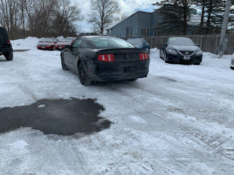 2010 Ford Mustang for sale at Excellent Autos in Amsterdam NY