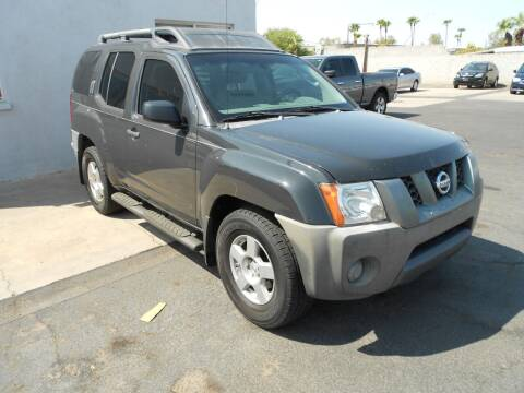 2008 Nissan Xterra for sale at COUNTRY CLUB CARS in Mesa AZ