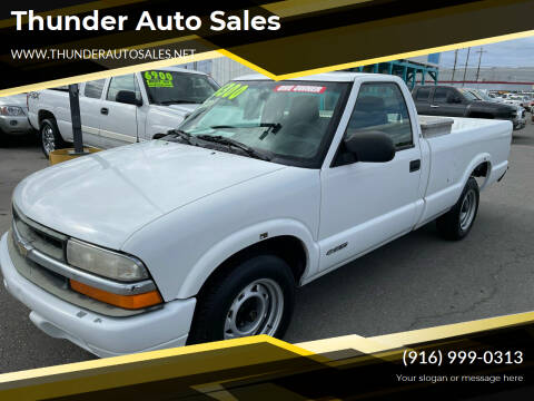 2001 Chevrolet S-10 for sale at Thunder Auto Sales in Sacramento CA