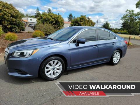 2015 Subaru Legacy for sale at McMinnville Auto Sales LLC in Mcminnville OR