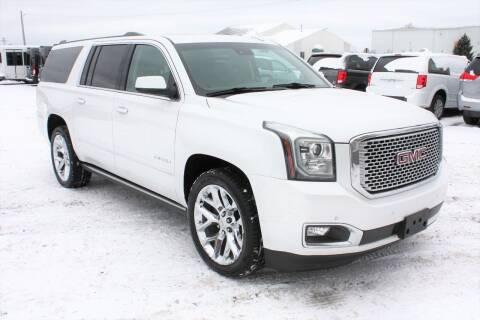 2016 GMC Yukon XL for sale at LJ Motors in Jackson MI