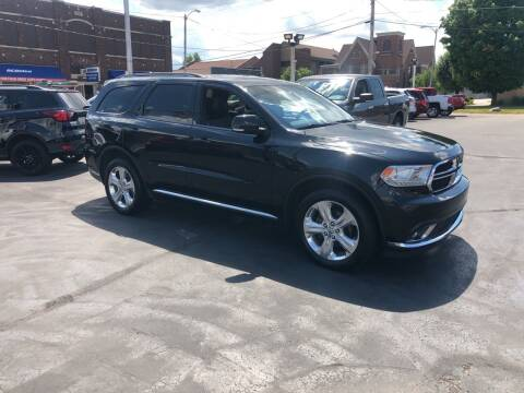 2014 Dodge Durango for sale at N & J Auto Sales in Warsaw IN