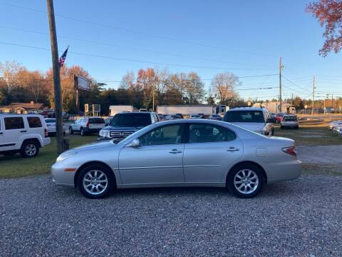 2004 Lexus ES 330 for sale at Joye & Company INC, in Augusta GA