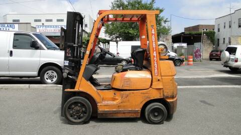 2003 Toyota 7FGCU25 Cushion Tire Forklift for sale at AFFORDABLE MOTORS OF BROOKLYN in Brooklyn NY