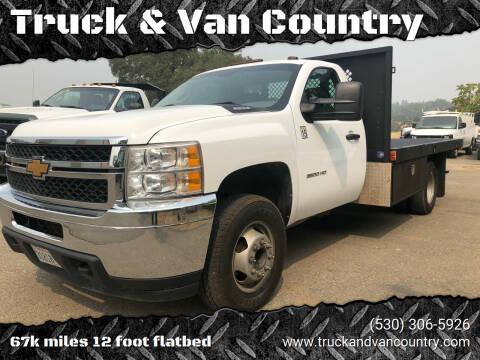 2013 Chevrolet Silverado 3500HD CC for sale at Truck & Van Country in Shingle Springs CA