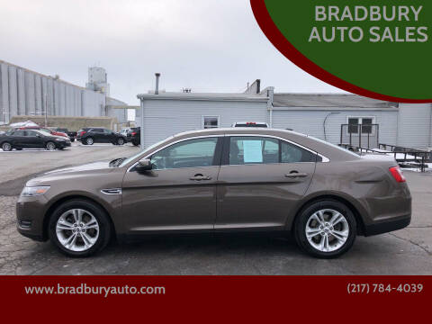 2016 Ford Taurus for sale at BRADBURY AUTO SALES in Gibson City IL