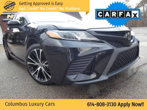 2020 Toyota Camry for sale at Columbus Luxury Cars in Columbus OH