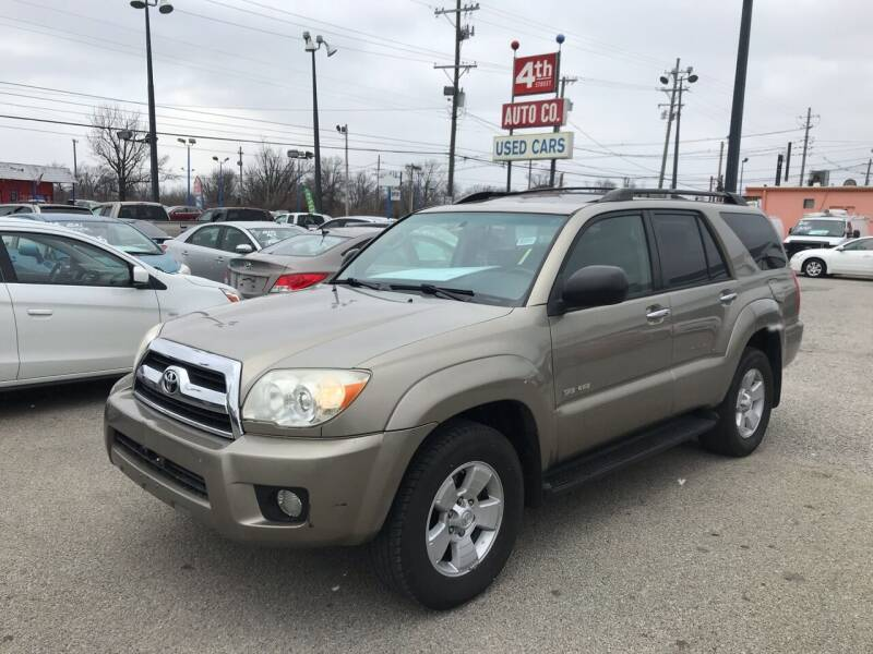 2006 Toyota 4Runner for sale at 4th Street Auto in Louisville KY