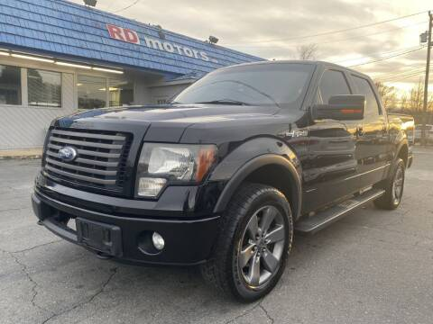2011 Ford F-150 for sale at RD Motors, Inc in Charlotte NC