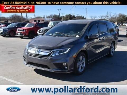 2018 Honda Odyssey for sale at South Plains Autoplex by RANDY BUCHANAN in Lubbock TX