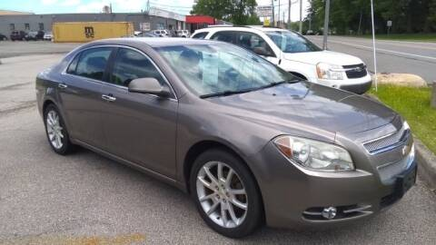 2011 Chevrolet Malibu for sale at J & S Motors in Chardon OH