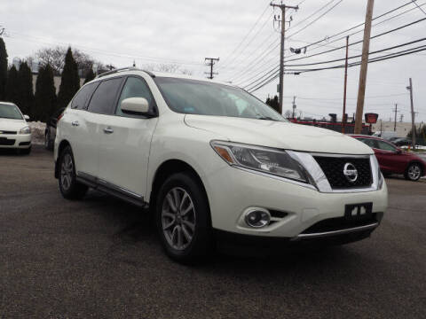 2014 Nissan Pathfinder for sale at East Providence Auto Sales in East Providence RI