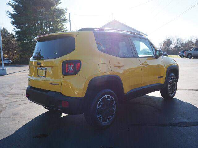 2015 Jeep Renegade 4x4 Trailhawk 4dr SUV - Cortland OH