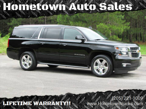 2016 Chevrolet Suburban for sale at Hometown Auto Sales - SUVS in Jasper AL