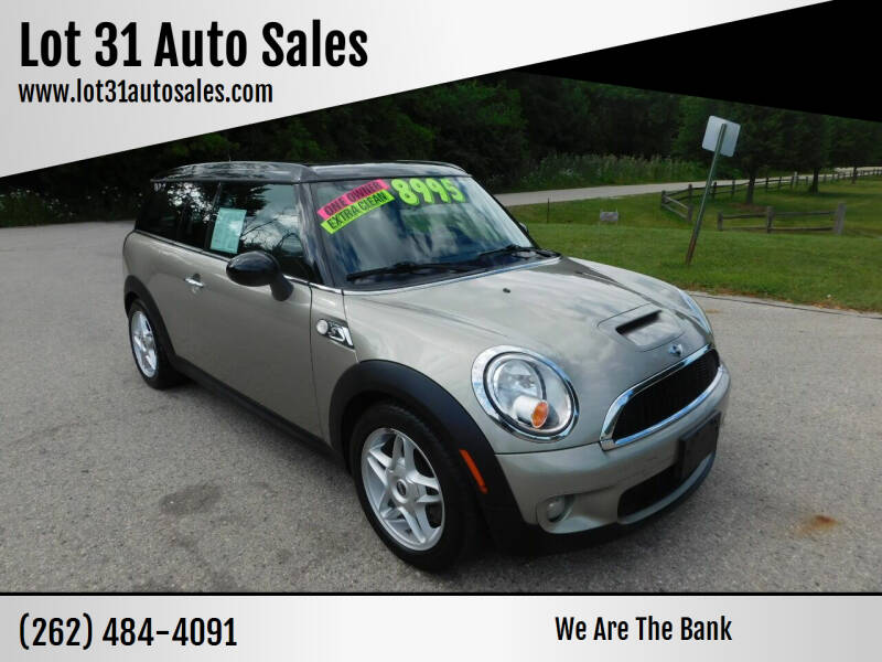2009 MINI Cooper Clubman for sale at Lot 31 Auto Sales in Kenosha WI