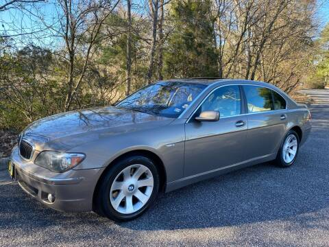 2007 BMW 7 Series for sale at Coastal Auto Sports in Chesapeake VA