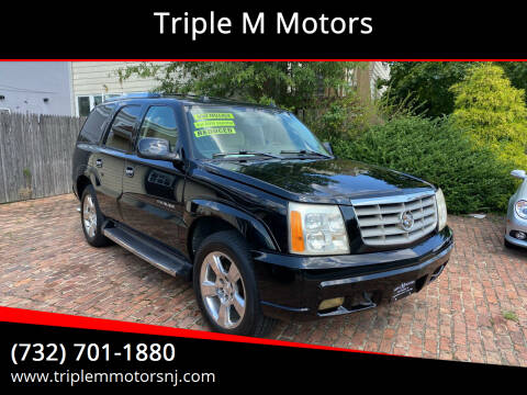 2004 Cadillac Escalade for sale at Triple M Motors in Point Pleasant NJ