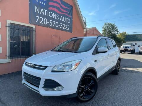 2014 Ford Escape for sale at Nations Auto Inc. II in Denver CO