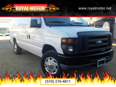 2011 Ford E-Series Cargo for sale at Royal Motor in San Leandro CA