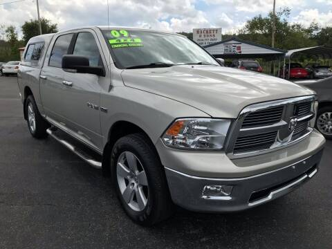2009 Dodge Ram Pickup 1500 for sale at HACKETT & SONS LLC in Nelson PA