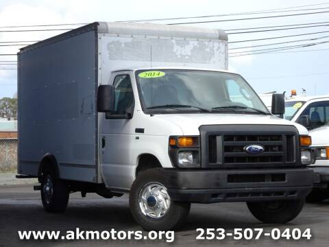 2014 Ford E-Series Chassis for sale at AK Motors in Tacoma WA