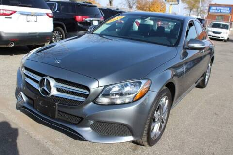 2018 Mercedes-Benz C-Class for sale at Road Runner Auto Sales WAYNE in Wayne MI