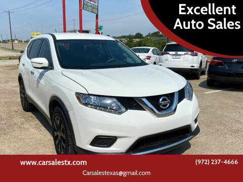 2015 Nissan Rogue for sale at Excellent Auto Sales in Grand Prairie TX