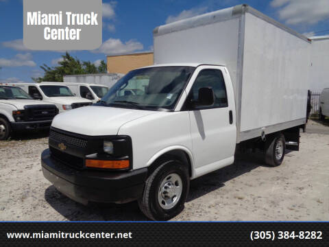 2016 Chevrolet Express Cutaway for sale at Miami Truck Center in Hialeah FL