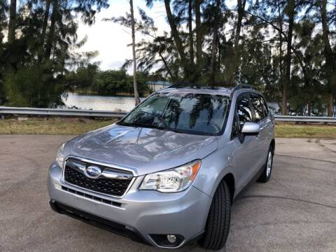 2015 Subaru Forester for sale at Exclusive Impex Inc in Davie FL