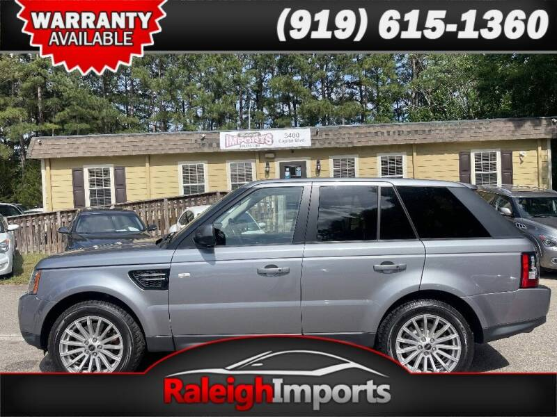 2012 Land Rover Range Rover Sport for sale at Raleigh Imports in Raleigh NC