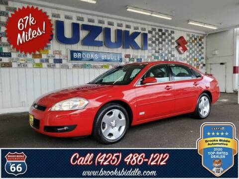 2008 Chevrolet Impala for sale at BROOKS BIDDLE AUTOMOTIVE in Bothell WA