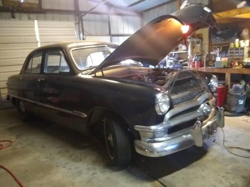 1950 Ford Custom Sedan for sale at C & R Auto Sales in Bowlegs OK