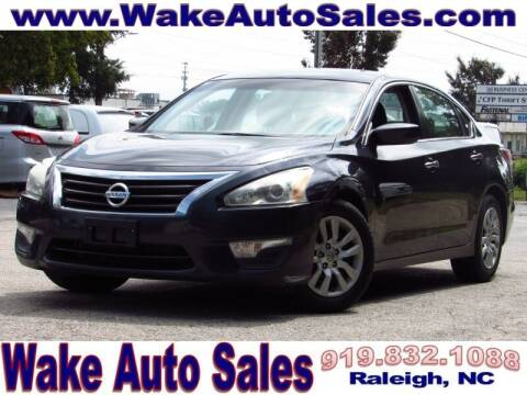 2014 Nissan Altima for sale at Wake Auto Sales Inc in Raleigh NC