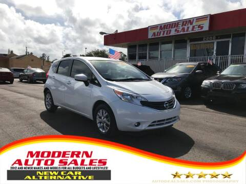 2016 Nissan Versa Note for sale at Modern Auto Sales in Hollywood FL